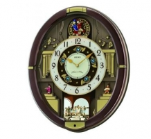 Danube Melodies in Motion Clock