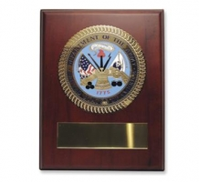 Engravable US Army Wood Plaque