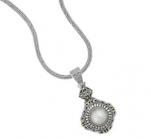 Silver Mabe Pearl