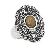 Marcasite Electroform Ring
