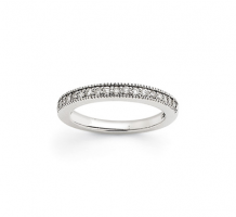 14KT White Gold Band