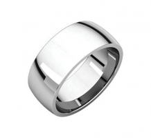 Platinum Light Comfort Fit Wedding Band