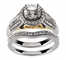 14 K Engagment Ring or Band