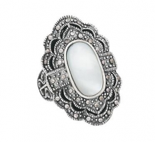 Marcasite Mother Of Pearl Ele