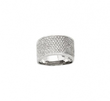 14KT White Gold Diamond Fancy Ring