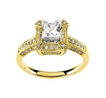14K Engagement Ring